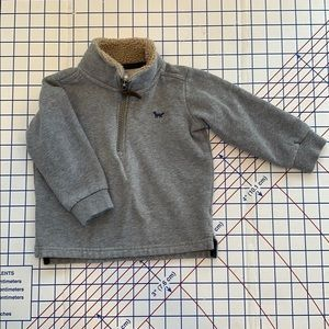 Carters 1/2 zip Sweater